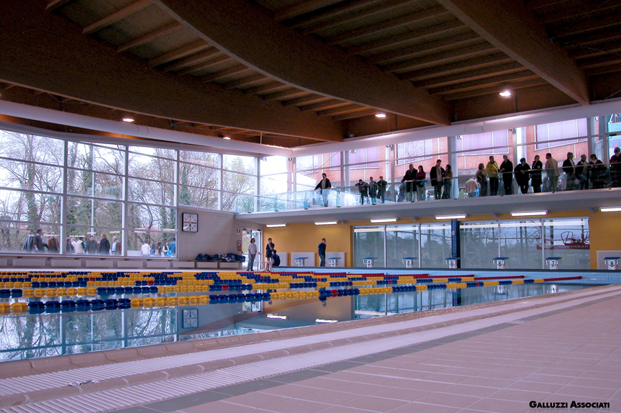 Galluzzi associati sport piscina olimpia coperta for Piscina olimpia siena